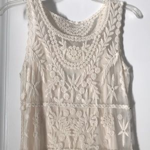 Express Embroidered Dress